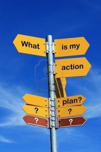 8472287-what-is-my-action-plan--direction-sign