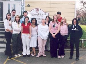 mentoring programme at hertswood school