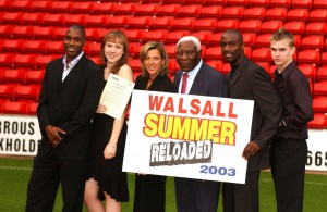 Sally Gunnell, Walsall Mentor Training Programme launch